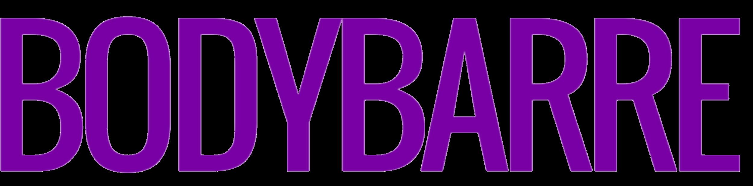 BodyBarre Lettering, No B's