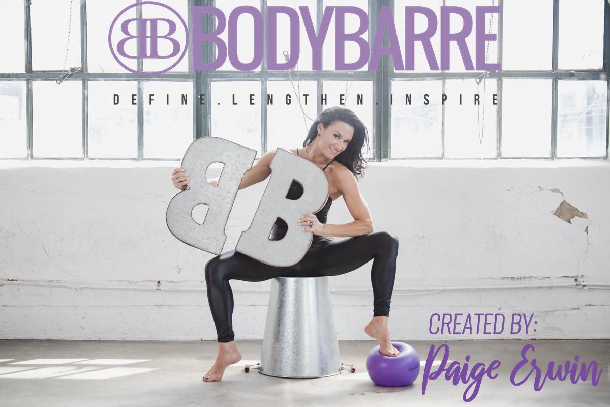 Creator of BodyBarre: Paige Erwin