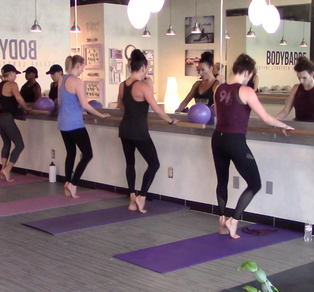 30+ minute Face the Barre BodyBarre™ Workout with Paige