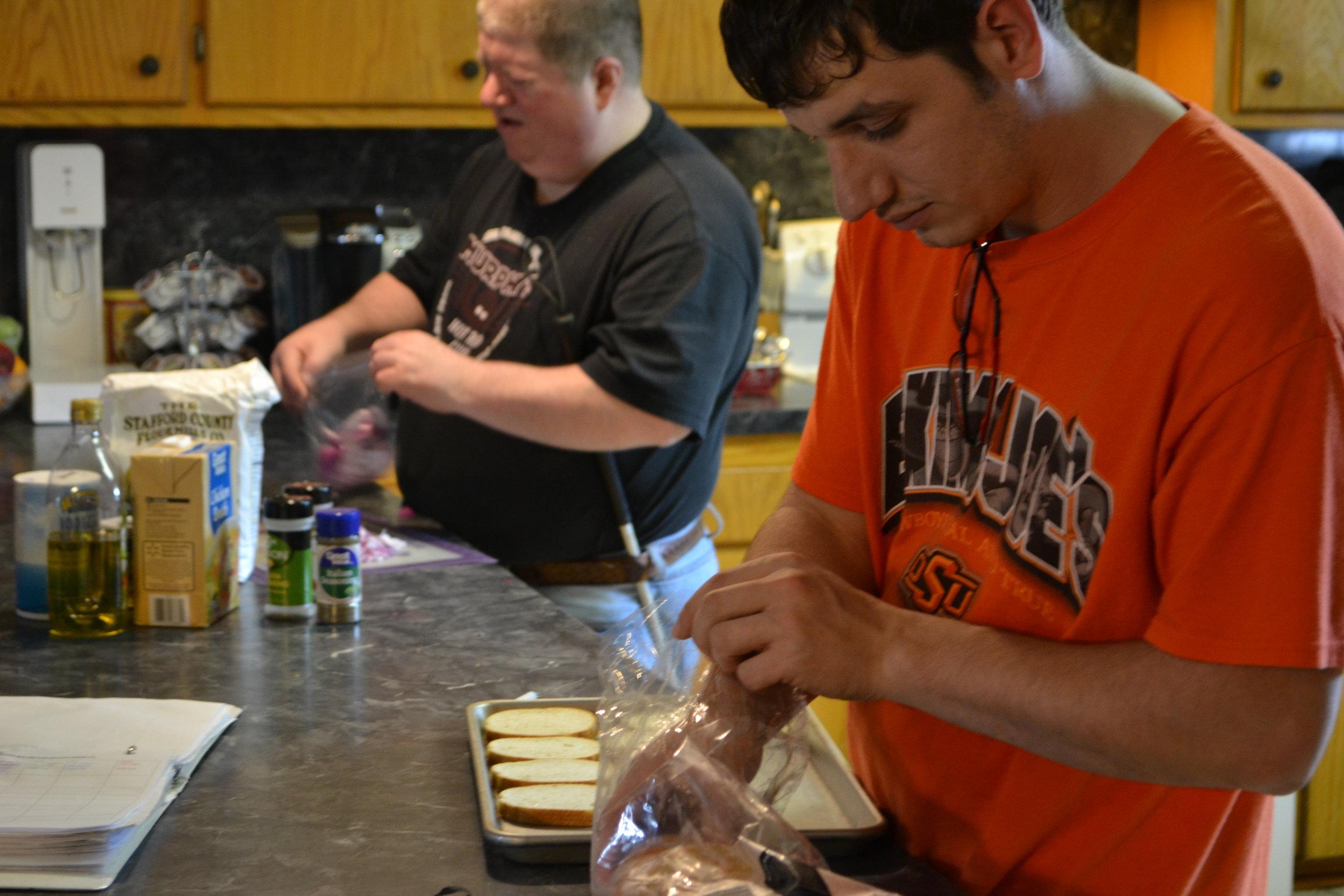 cooking crew
