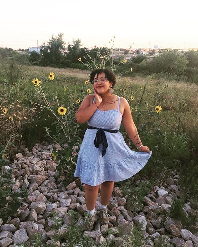 "submitted by @ainataicrag . . ""This thrifted outfit I built reminds me of sweet summer nights. I remember being very in touch with my emotions this day because I was going through a rough patch, but even then I still felt such warmth in my heart for the people around me and the beautiful scenery 🌻✨ I was also really excited because I felt like at this point I had finally figured out my personal style, which was such a big deal because over the years I never felt like I really knew how to express who I really was. So grateful that thrifting and fashion has helped me with that :')))"" . . . . . #sustainablefashion #tellyourstory #sustainableliving #recycle #ecofashion #sustainability #fashionrevolution #upcycling #consciousfashion #ethicalfashion #slowfashion #ecofriendly #slowliving #ethicalstyle #sustainablefashionblogger #capsulewardrobe #secondhandclothes #lovedclotheslast #nothingnew #thrifting #ethicallymade #fairfashion #igcloset #vintage #minimalism #zerowasteliving #ootd"