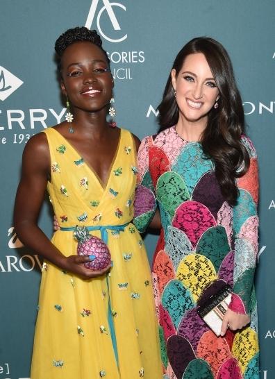 Lupita Nyong'o & Micaela Erlanger - Style Influencer Award