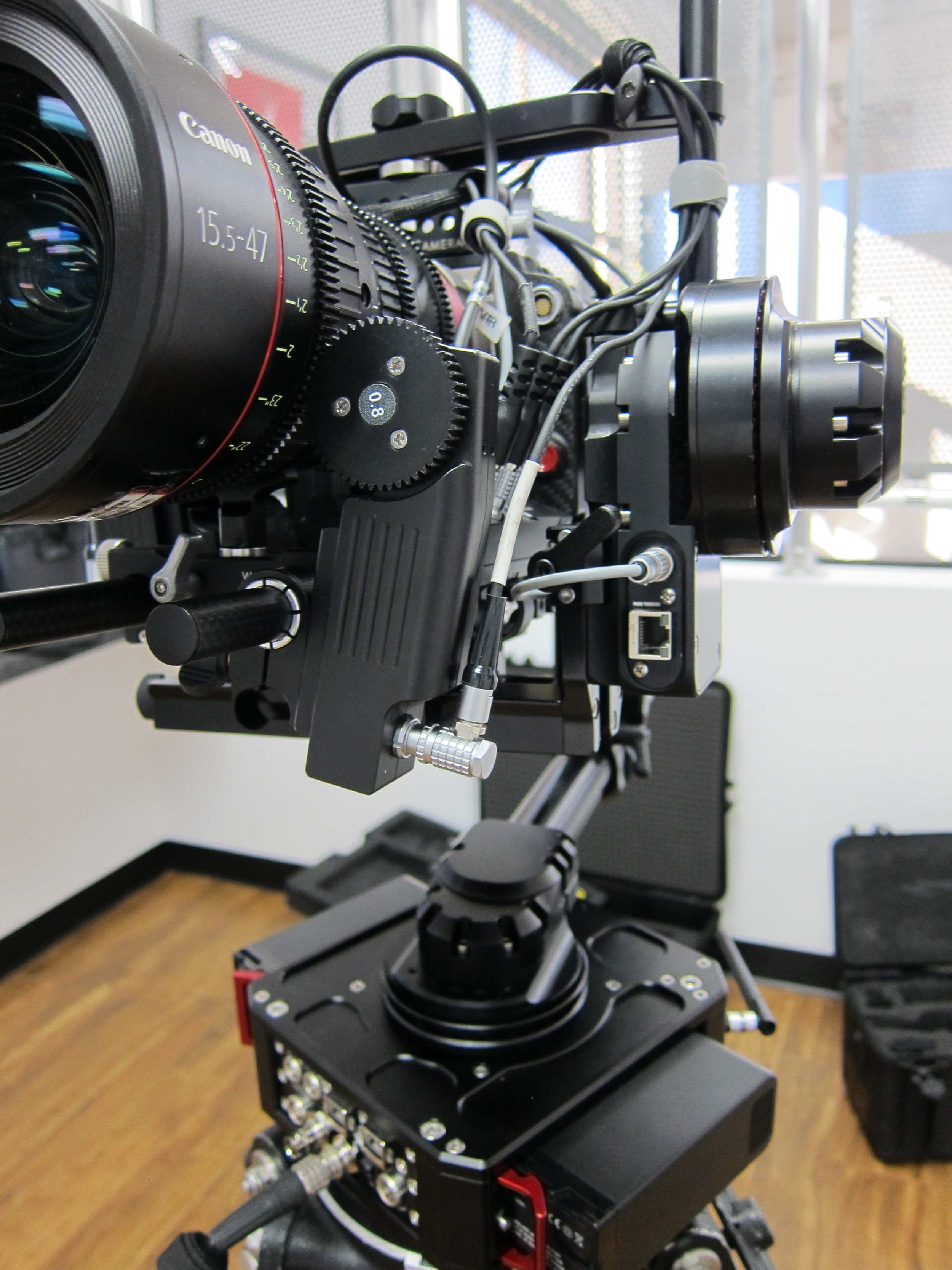 RT Focus Motor with Canon 15.5-47mm + RED Dragon & NEWTON