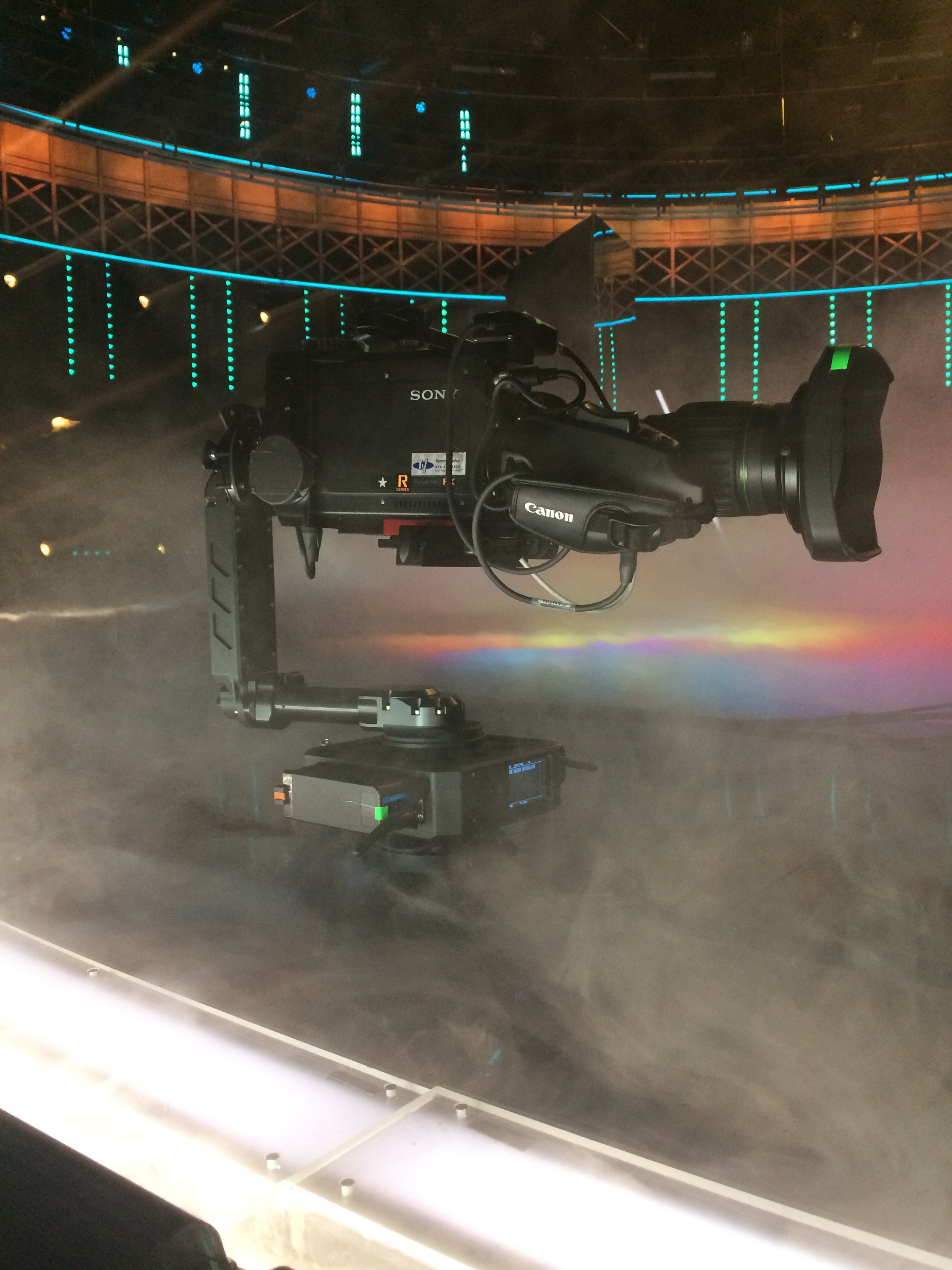 "MojoCam w/ NEWTON stabilized remote head on ""World of Dance S2"""