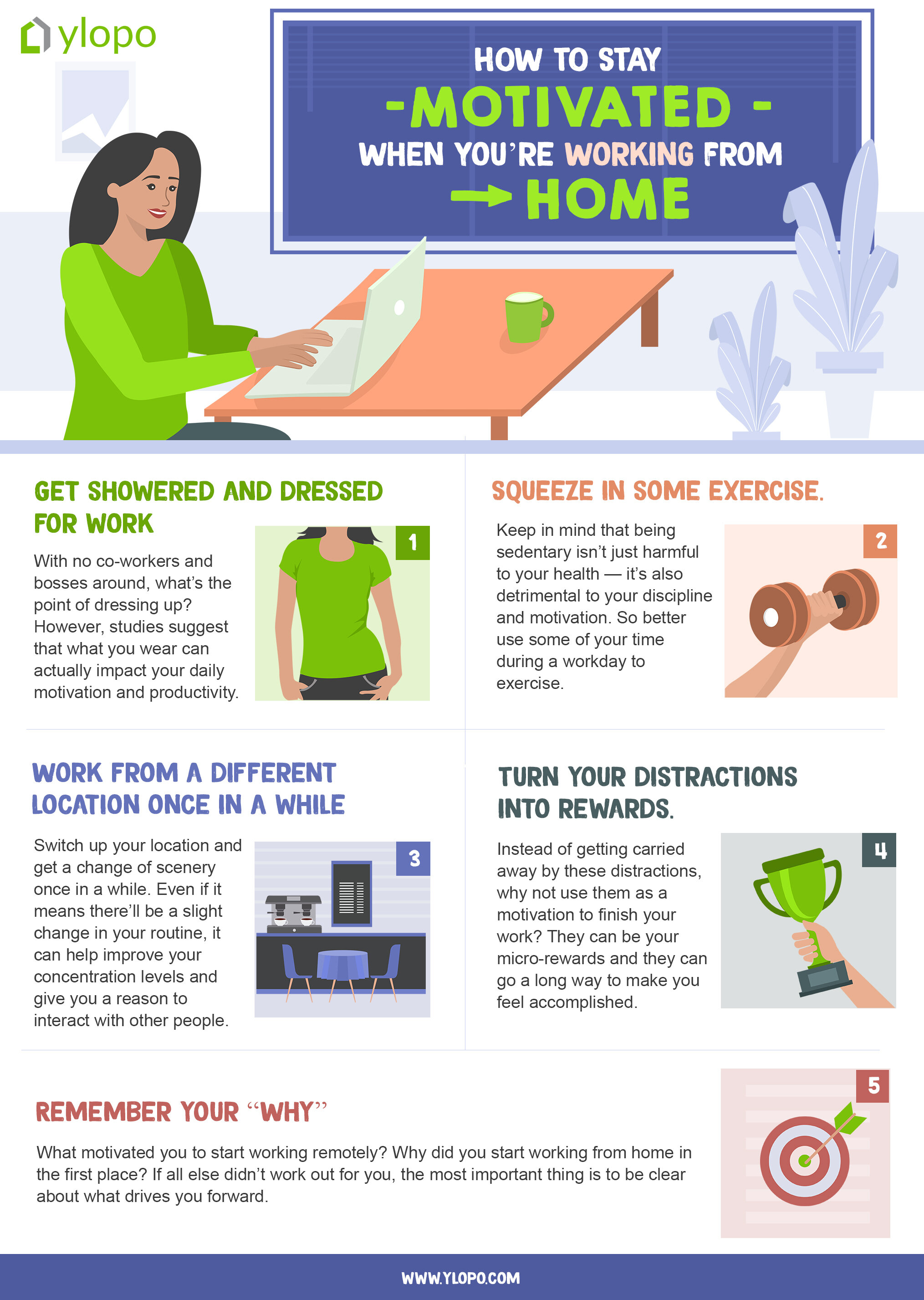 How To Stay Motivated When You Re Working From Home Ylopo
