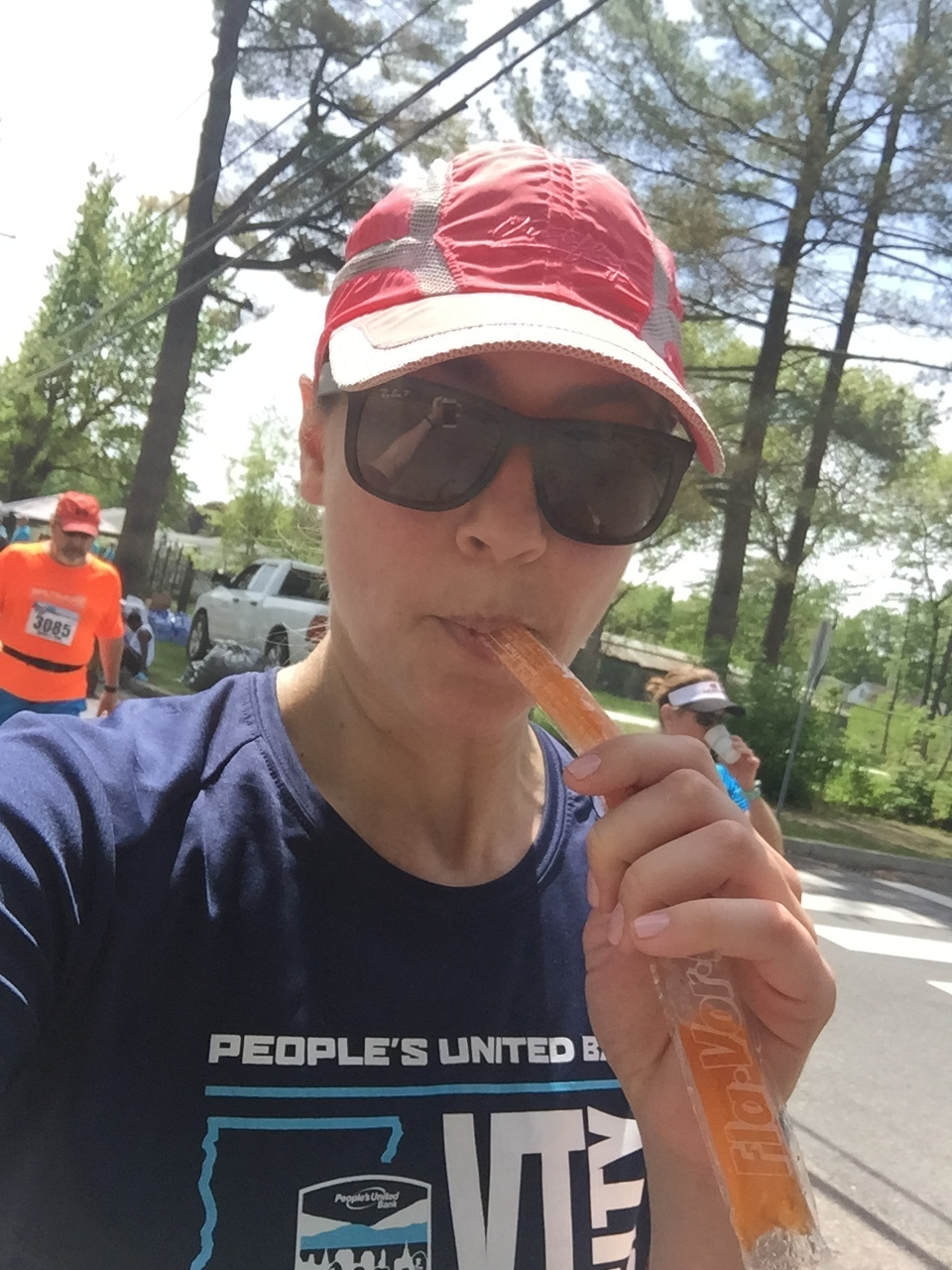 Let's not get too serious here...selfies and ice pops along the way :)