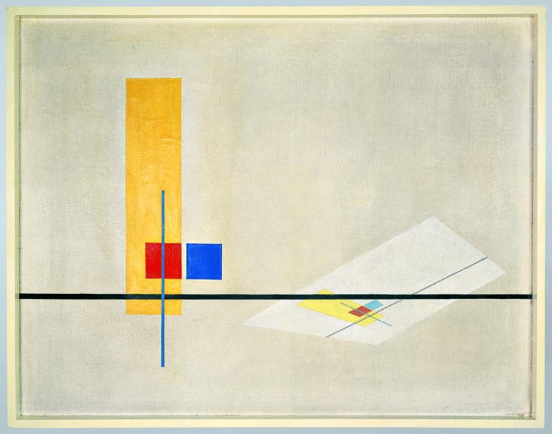 Laszlo-Moholy-Nagy_Konstruktion-Z-I_1922-1923_Bauhaus-Archiv_Foto-Hartwig-Klappert_VG-Bild-Kunst
