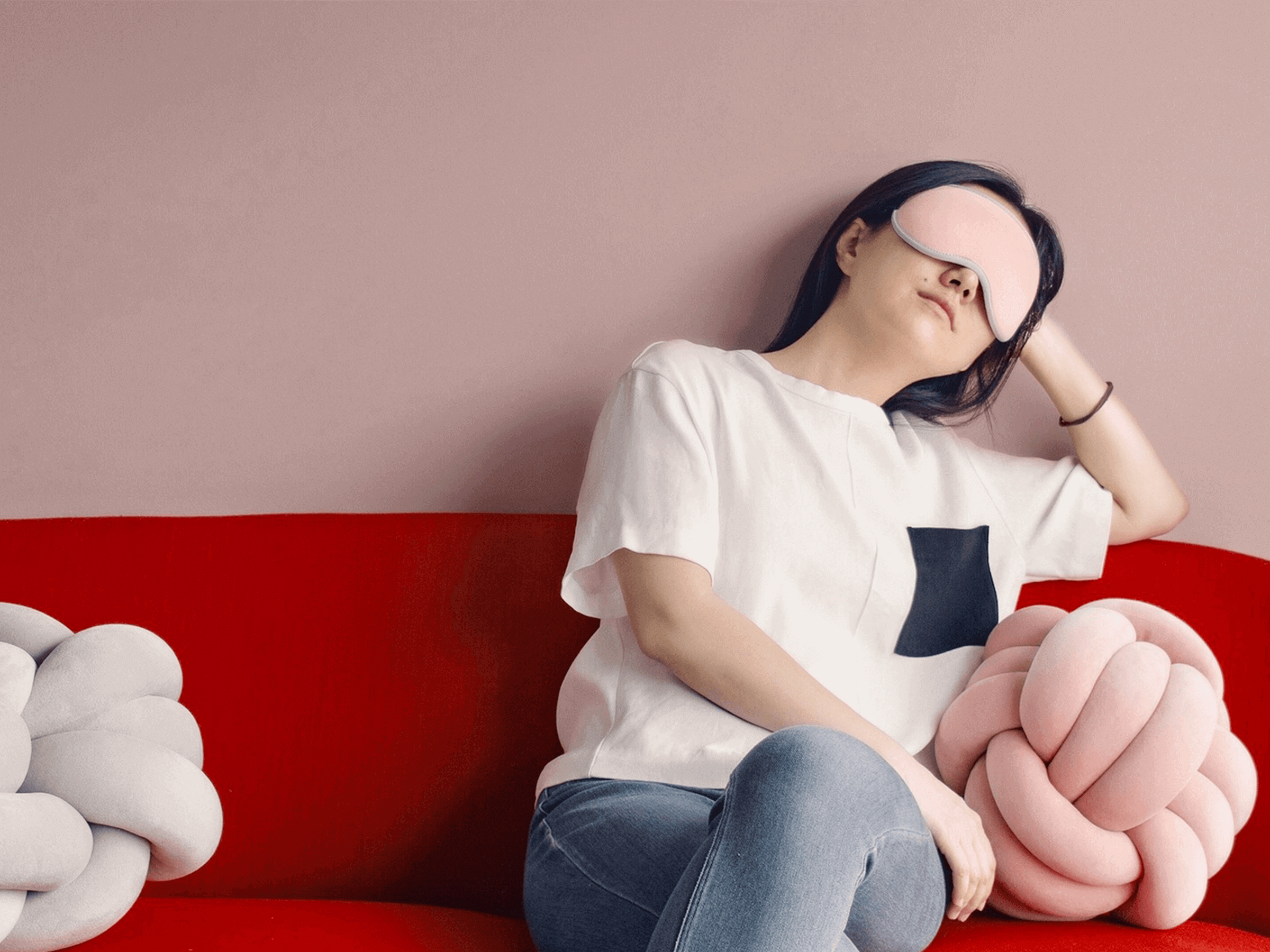 A Sleep Mask With Zero Pressure on Your Eyes - Blossom 3D Sleep Mask