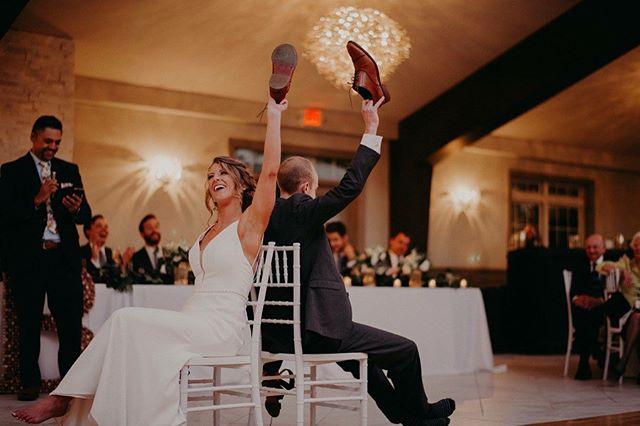 Happy wedding day, let the games begin! #iegkc