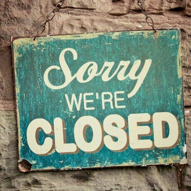 So sorry but we have to close for a few days...we'll be back to nourish you on June 5. See you then.