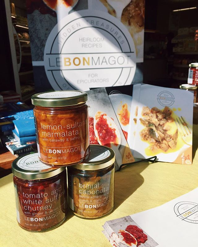 #LeBonMagot is LIVE @markethallfoods in sunny #Berkeley, California! Pop on by for a taste of our innovative, unusual and #AllNatural jams and preserves! #EatRealFood