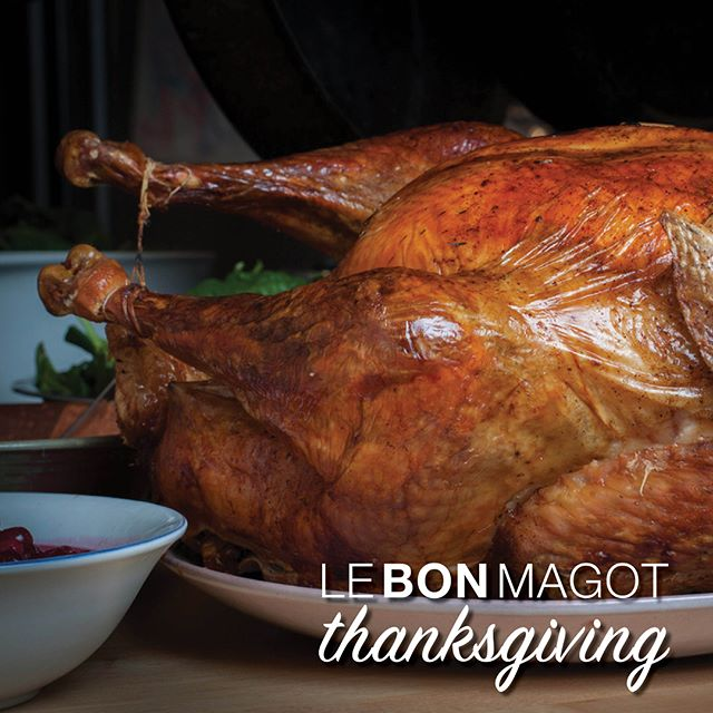 We are immensely #thankful for everyone who has supported our journey this year. From your friends at #LeBonMagot, we wish you and your friends and family a happy, healthy and delicious #Thanksgiving! 🦃🥔🍏