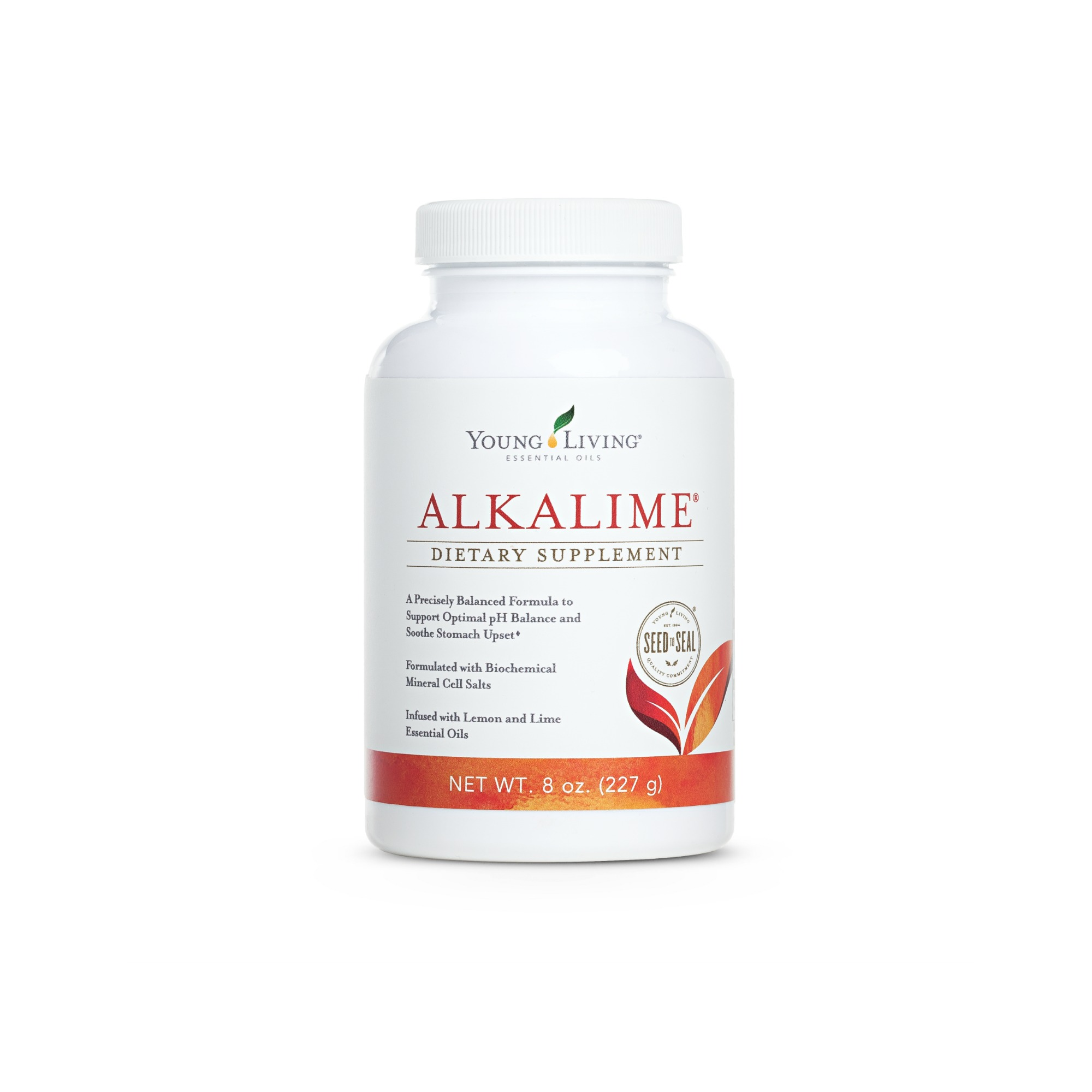 ALKALIME    AlkaLime is a precisely-balanced alkaline mineral complex formulated to neutralize acidity and maintain desirable pH levels in the body. Infused with lemon and lime essential oils and organic whole lemon powder, AlkaLime also features enhanced effervescence and biochemic cell salts for increased effectiveness. A balanced pH is thought to play an important role in maintaining overall health, a steady immune system, and vigor. This is popularly used as a supplement to help soothe the occasional upset stomach.   Click here   to learn more about this product.