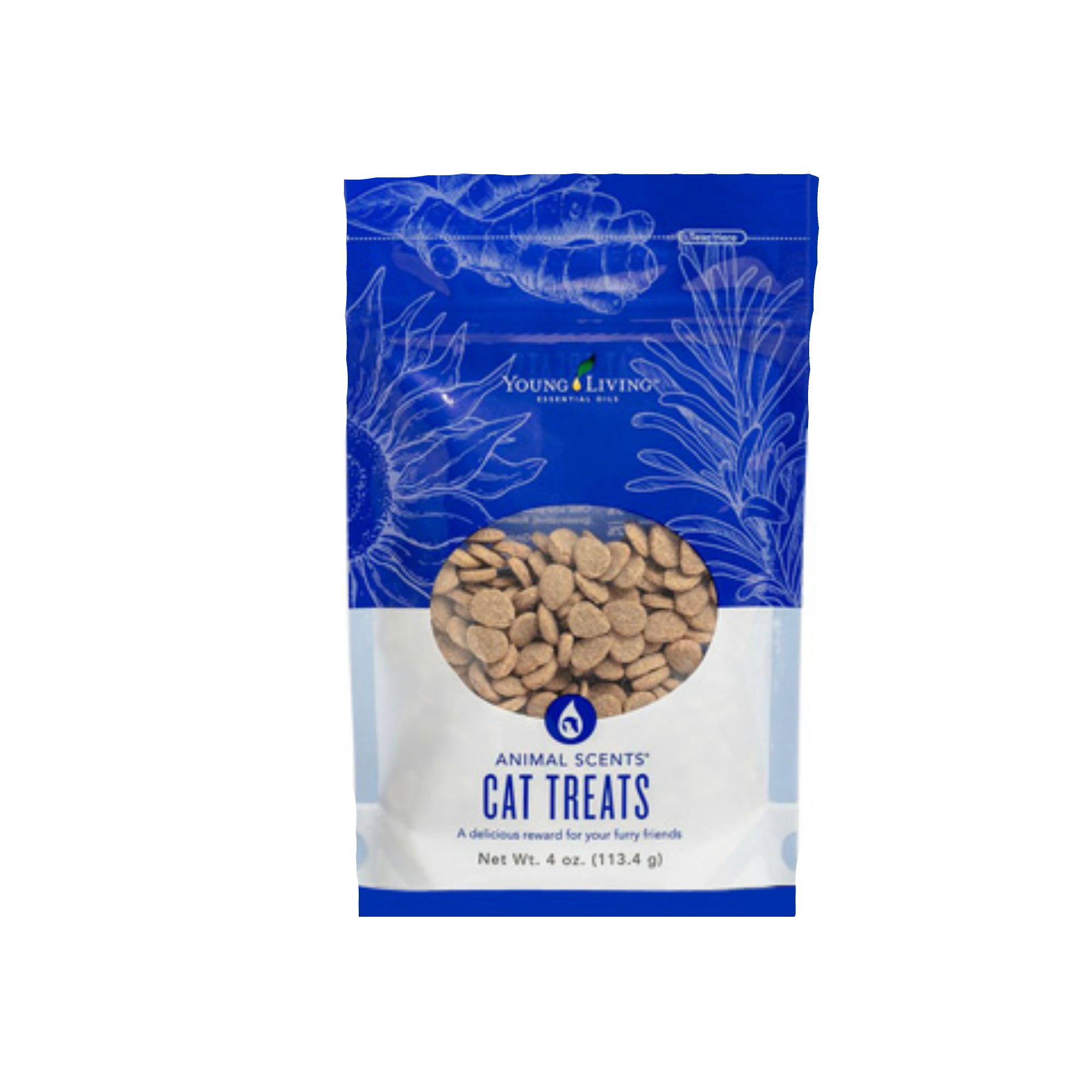 ANIMAL SCENTS CAT TREATS    Animal Scents Cat Treats are tasty, crunchy, and convenient treats for your cat. These cat treats are formulated without any artificial colors, flavors, preservatives, or added fillers. They contain the highest quality, naturally derived ingredients. Animal Scents Cat Treats are stored in convenient, 4-ounce zipper pouches to help seal in freshness. A portion of all proceeds from Animal Scents products goes to support Vital Ground, a nonprofit organization dedicated to protecting the habitat of grizzly bears and other wide-roaming wildlife.   Click here   to learn more about this product.