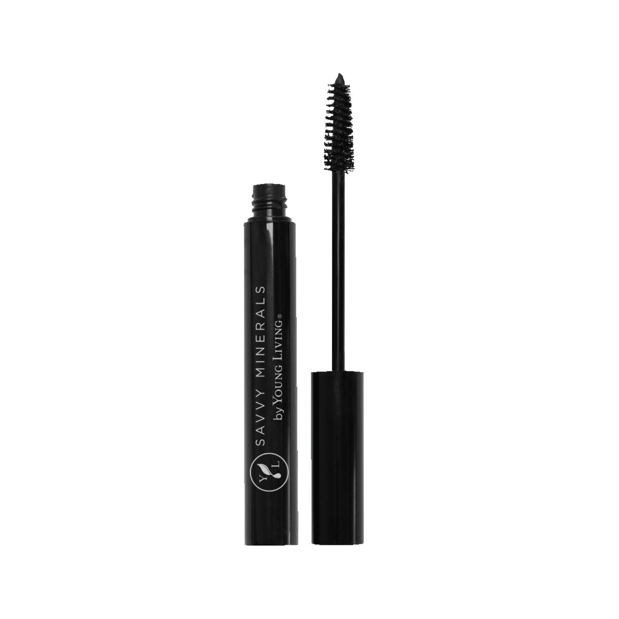 MASCARA    No harmful ingredients, formulated for sensitive eyes, and not tested on animals, Savvy Minerals Mascara lets you flutter your lashes with confidence. This mascara complements a subtle daytime look or a fun evening style with natural definition. It's also infused with Lavender essential oil to support healthy hair growth.   Click here   to learn more about this product.