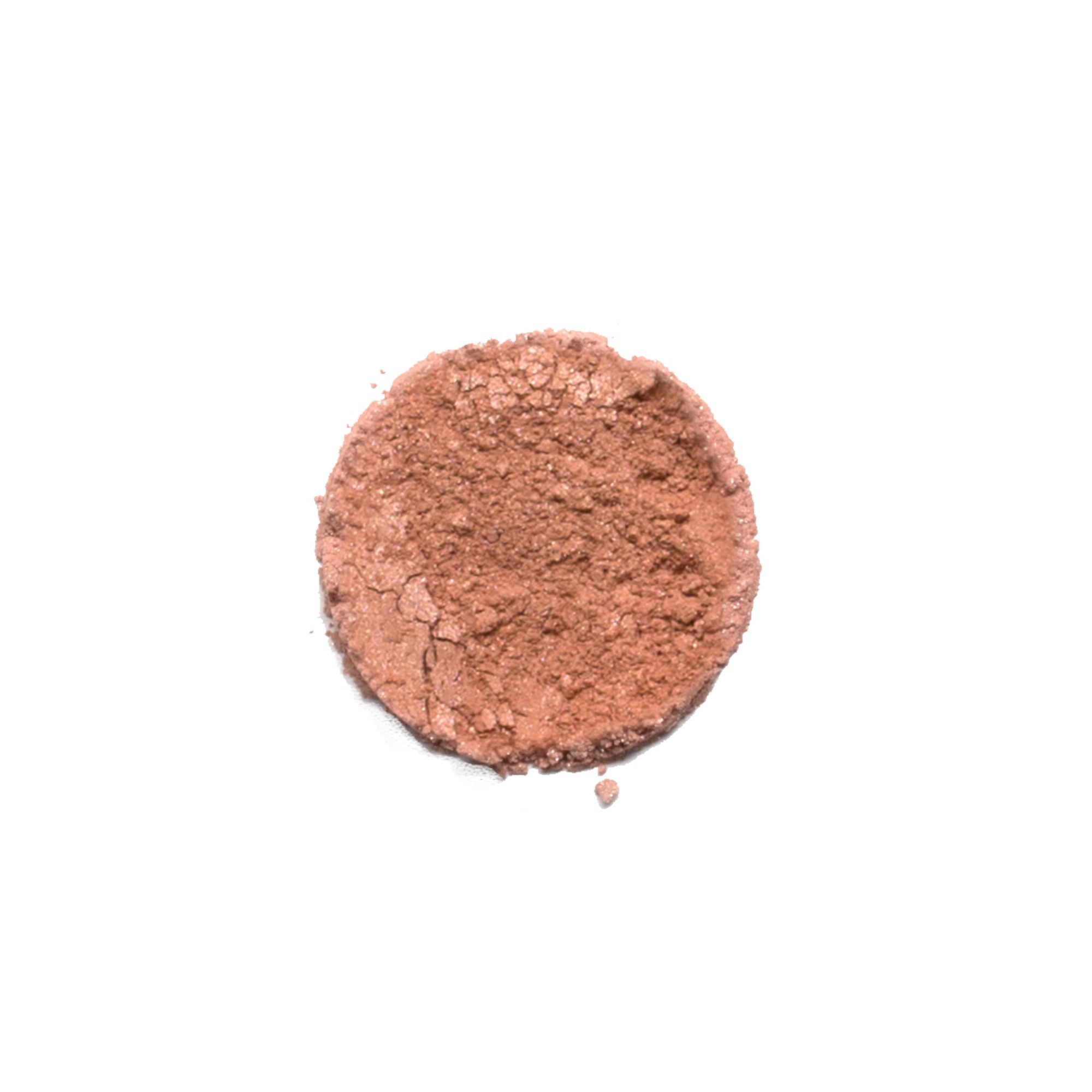 CRUSHIN' EYESHADOW    This shade is a shimmery nude peach color. Savvy Minerals eyeshadows are made with a finely ground mineral base, so they have a smooth, luxurious application and high-quality ingredients. They're formulated without fillers, synthetic fragrances, or parabens. Plus, its long-lasting formula leaves you with a gorgeous look you can wear all day.   Click here   to learn more about this product.