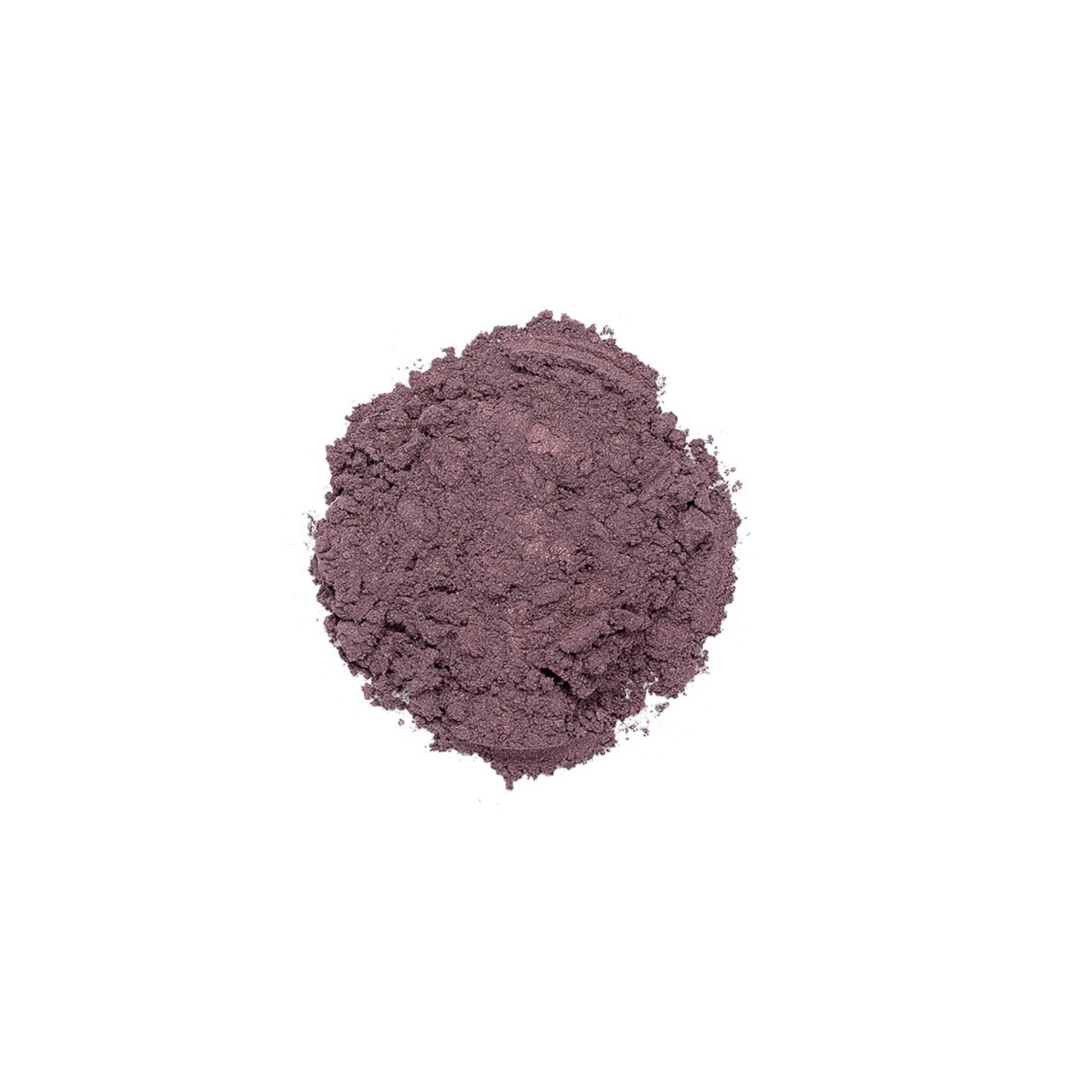 OVERBOARD EYESHADOW    This shade is a shimmery smokey plum color. Savvy Minerals eyeshadows are made with a finely ground mineral base, so they have a smooth, luxurious application and high-quality ingredients. They're formulated without fillers, synthetic fragrances, or parabens. Plus, its long-lasting formula leaves you with a gorgeous look you can wear all day.   Click here   to learn more about this product.