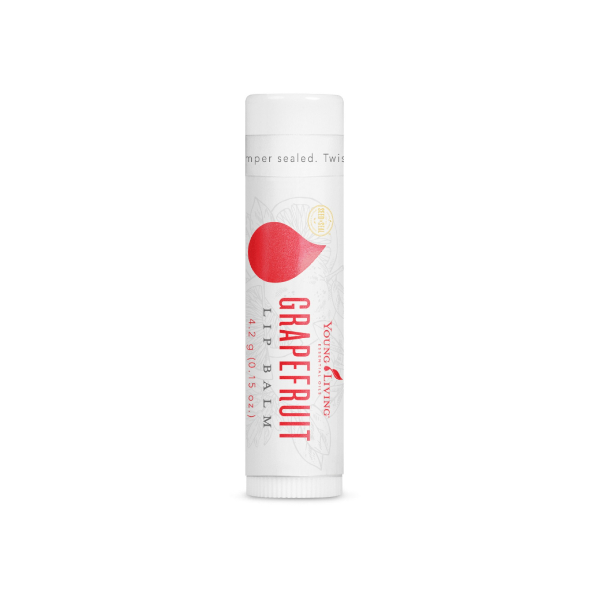 GRAPEFRUIT LIP BALM    Infused with Grapefruit essential oil, wolfberry seed oil, and antioxidants, this refreshing lip balm seals in moisture to prevent dehydration for smooth lips. It is perfect for on the go, and leaves a long lasting moisture and protective barrier on the lips.   Click here   to learn more about this product.