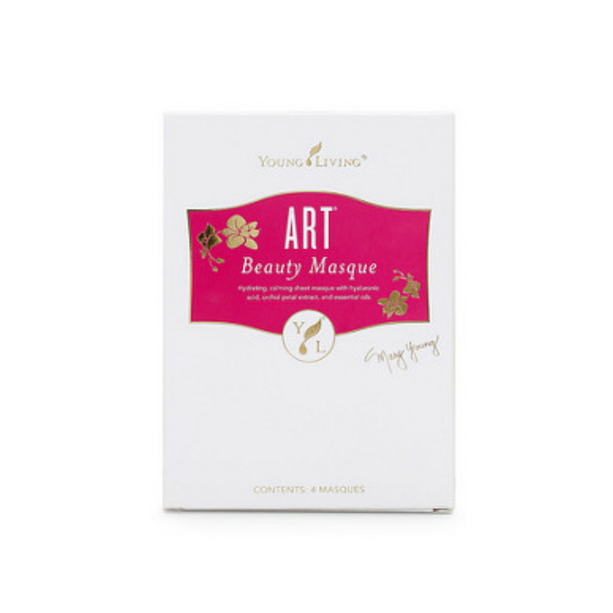 ART BEAUTY MASQUE    The ART Beauty Masque is the perfect way to support a healthy and youthful-looking complexion, and a great way to give your skin some extra pampering. This fabric mask leaves skin looking radiant and feeling soft with its formula of essential oils and exotic orchid petals. The ART Beauty Masque is designed with all skin types in mind and will nurture and moisturize your skin, leaving it looking brighter and feeling more refreshed.   Click here   to learn more about this product.