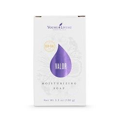 VALOR BAR SOAP    This bar soap is great to use before bed to help you relax, or in the morning before work for an extra boost of courage. Infused with the invigorating Valor II™ blend and other naturally-derived botanicals, Valor Moisturizing Bar Soap cleanses the skin and has a revitalizing aroma.   Click here   to learn more about this product.