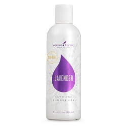 LAVENDER BATH & SHOWER GEL    Infused with pure Lavender oil, Lavender Bath & Shower Gel cleanses, soothes, and relaxes your skin. It's free of chemicals and synthetic preservatives and contains plant-based ingredients such as coconut oil and star anise.   Click here   to learn more about this product.