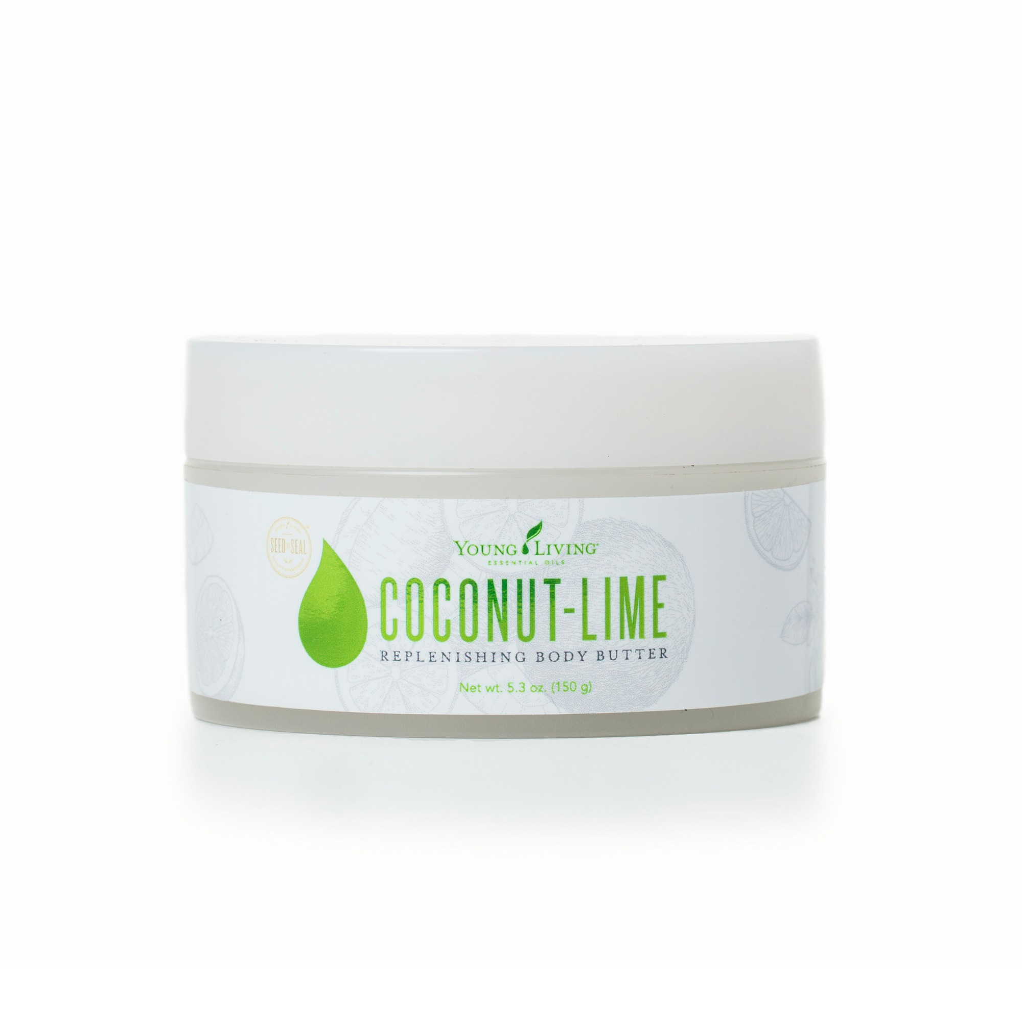 COCONUT LIME BODY BUTTER    Young Living's Coconut-Lime Replenishing Body Butter uses mango and cupuacu butters and no added water to give your skin a luxurious, smooth feel. With its intense, natural moisturizing properties, it keeps your skin hydrated and soft all day long, while coconut oil and citrus essential oils leave your skin with a fresh, tropical scent.   Click here   to learn more about this product.