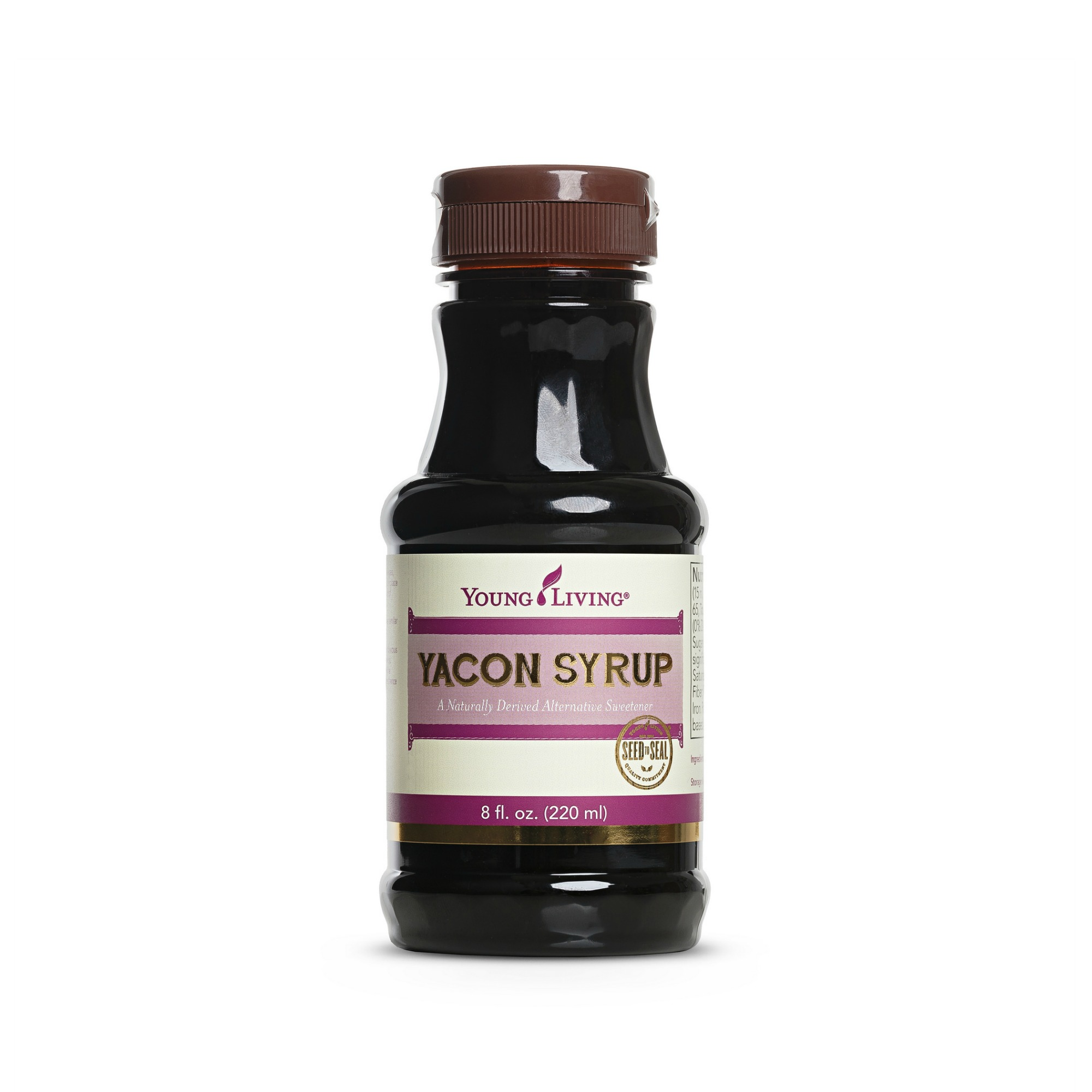 YACON SYRUP    Yacon Syrup is a natural alternative sweetener, similar to honey, maple syrup, molasses, or sugar cane syrup. Grown in the Andes Mountains and used since pre-Inca times, this delicious sweetener is the perfect choice for beverages, cooking, cereal, baking, and other recipes.   Click here   to learn more about this product.
