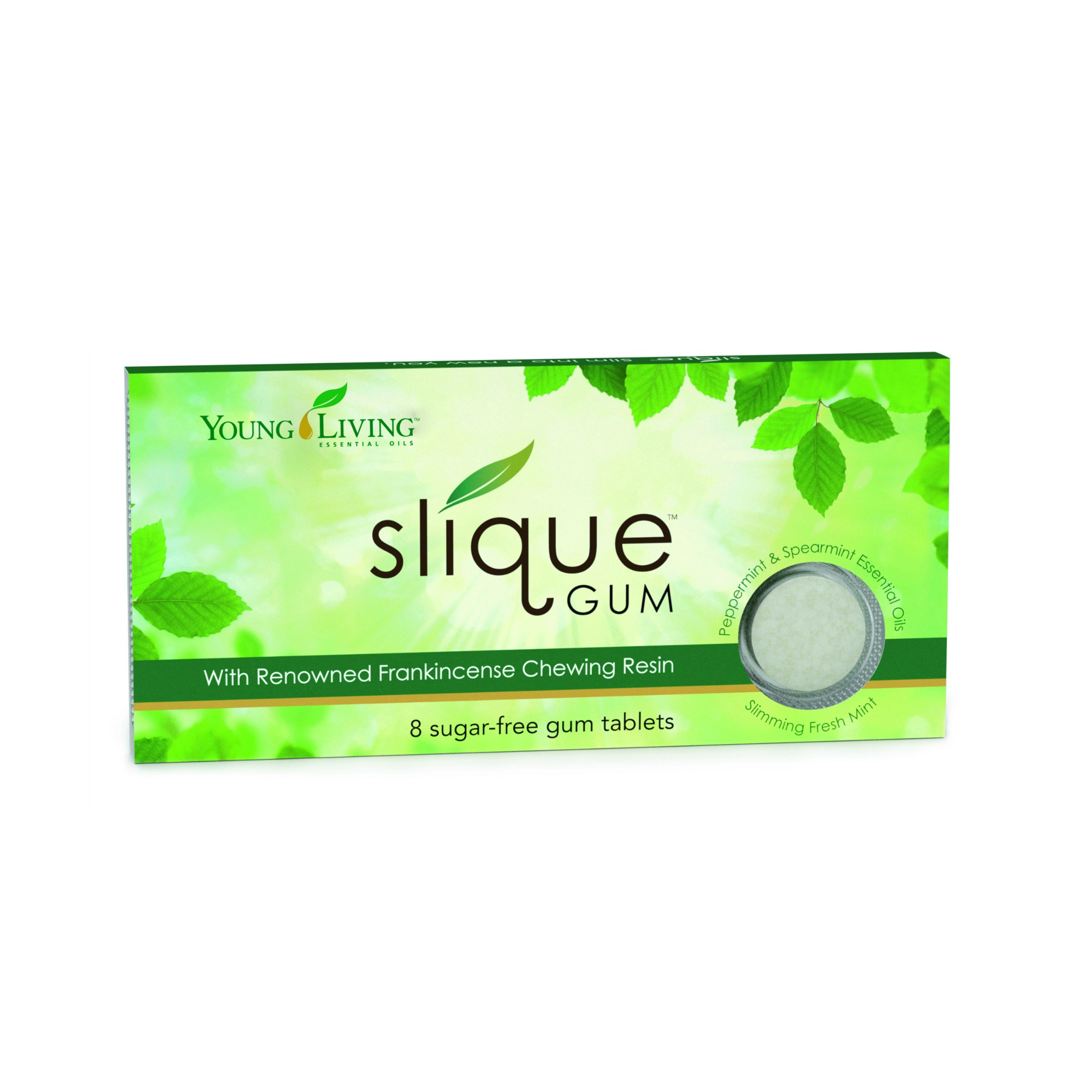 SLIQUE GUM    Ancient travelers throughout the Middle East used raw frankincense resin for its nutritional content and ability to help control hunger. Slique™ Gum offers those same benefits in a modern delivery system that helps control food cravings and improve oral health.   Click here   to learn more about this product.