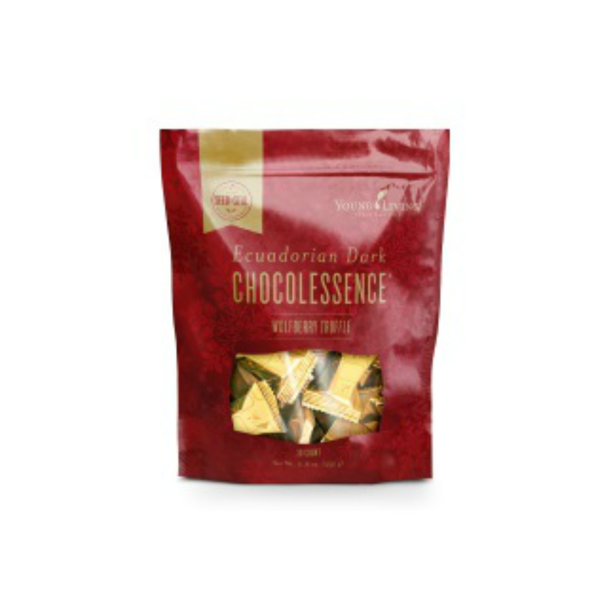 CHOCOLESSENCE WOLFBERRY TRUFFLE    Time to indulge! These decadent truffles combine the subtle, dark, complex flavors of our exclusively sourced Ecuadorian Nacional beans with the fruity tang of Ningxia wolfberries. Savor your holiday season with this exceptionally bold, bite-sized masterpiece, or enjoy this sweet snack after a nutritious meal.   Click here   to learn more about this product.