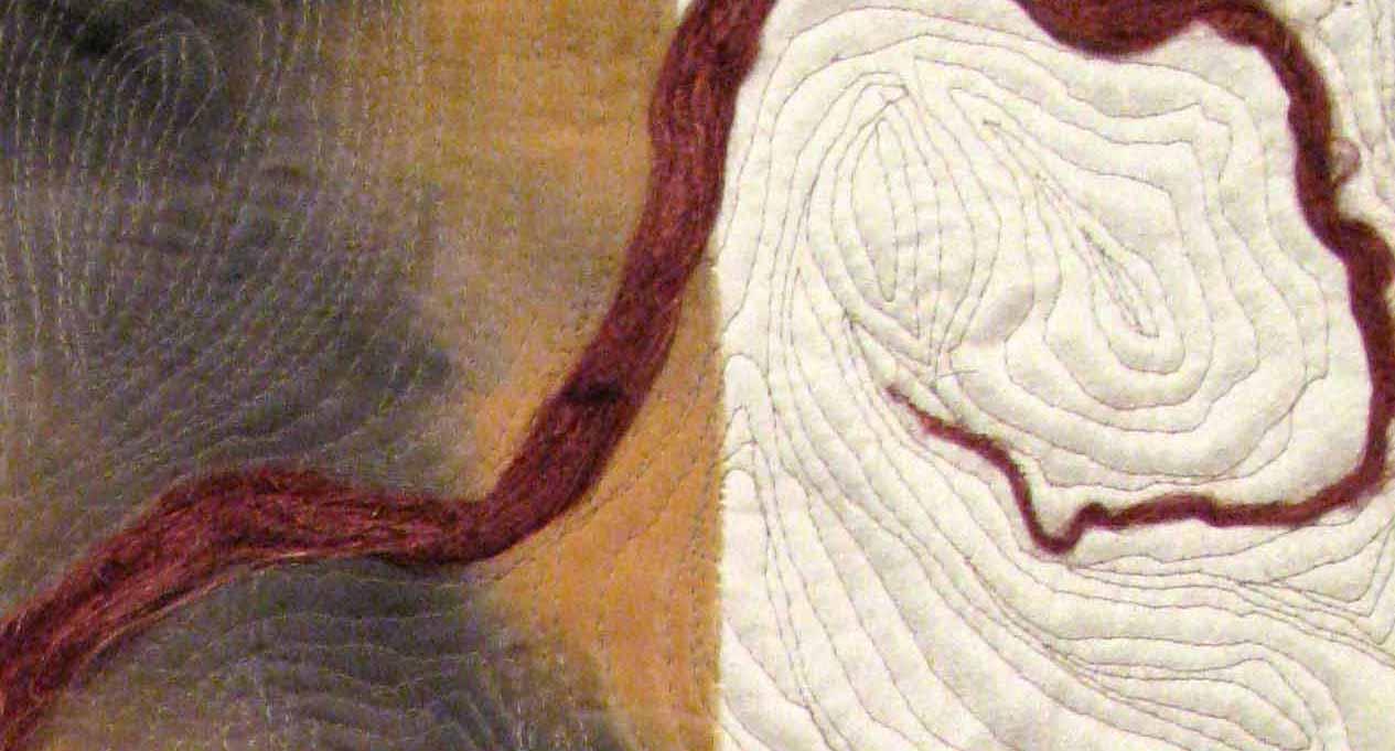 Detail of Blood River Canyon No. 4