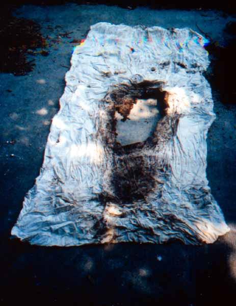Shrouds No. 1 final cloth.