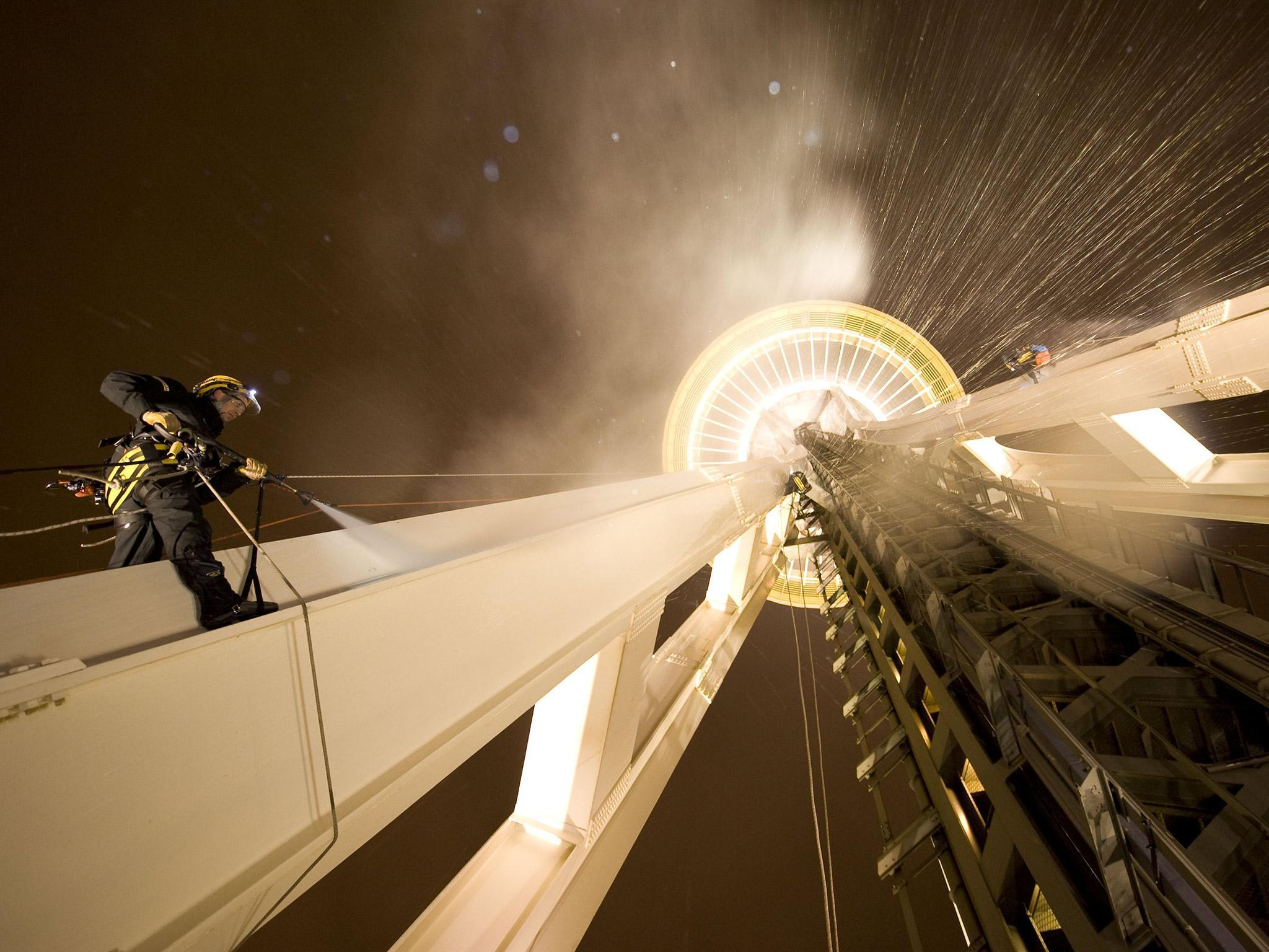 Space Needle - Cleaning.jpg