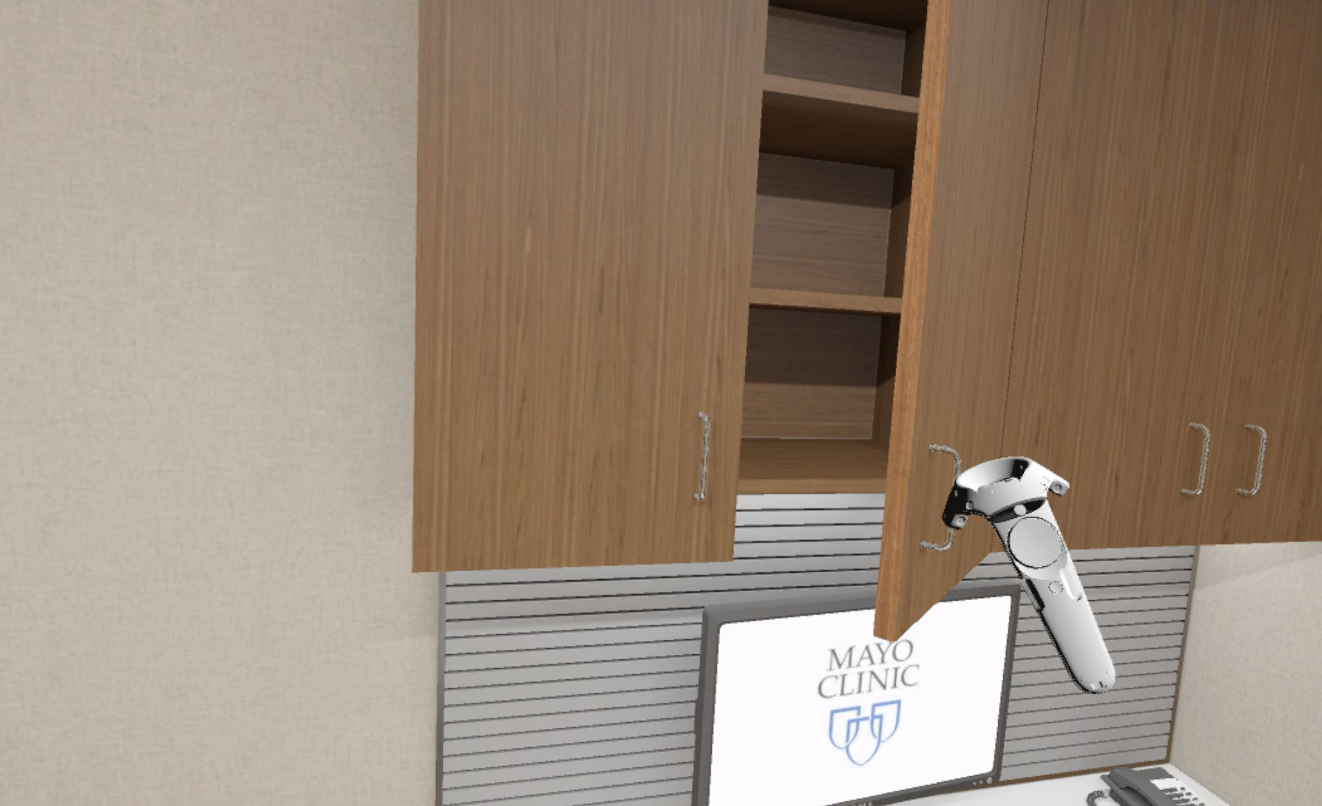 Interactive Cabinet Doors