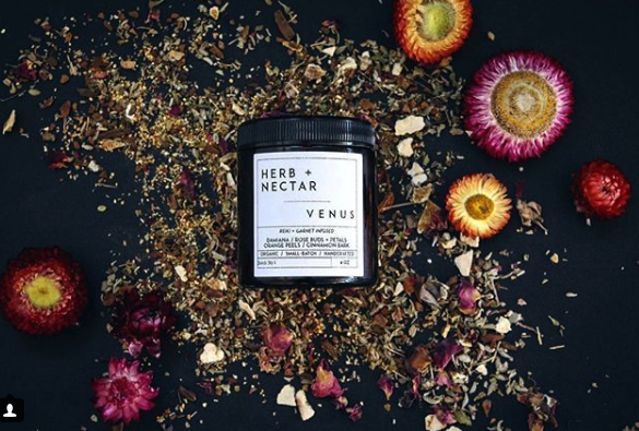 Herb + Nectar Botanic Supply - Herbalist made tea crafted in San Diego from the finest, organic ingredients.Herb + Nectar is a conscious, small-batch apothecary + pop-up tea bar that specializes in reiki-infused organic teas, seasonal offerings, herbalism, and apothecary goods. We believe in an even energy exchange - our goal is to give back to the Earth as much as we take through composting, offering, and returning nutrients to the soil.@herbandnectarwww.herbandnectar.com