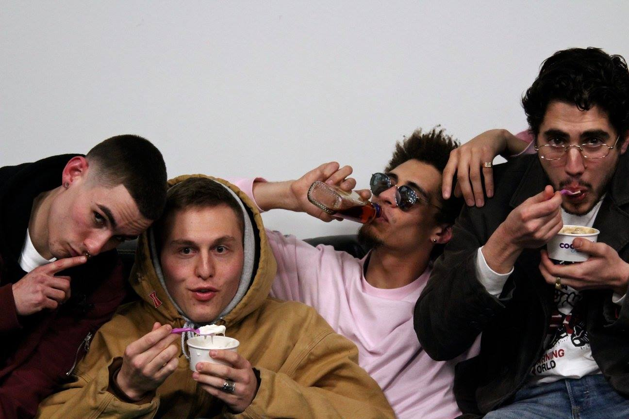 From left to right: Anthony Zaremba, Eric Opal, Matt Greene, and Parker Israeli of OFFTOP
