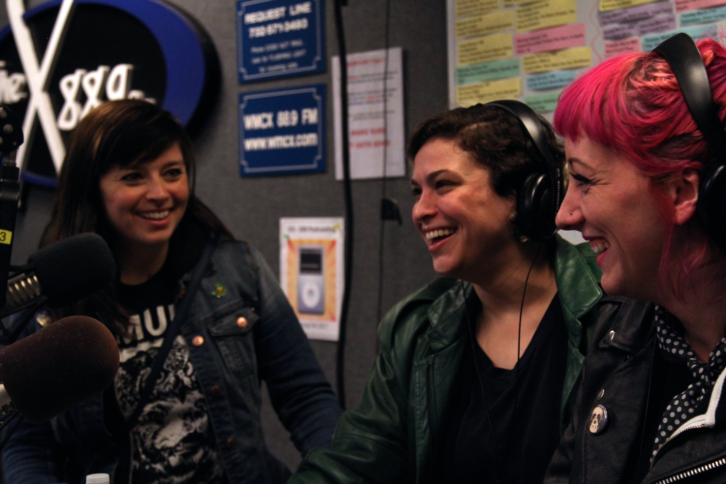 From left to right: Kelly Olsen, Allegra Anka, and Augusta Koch of Cayetana