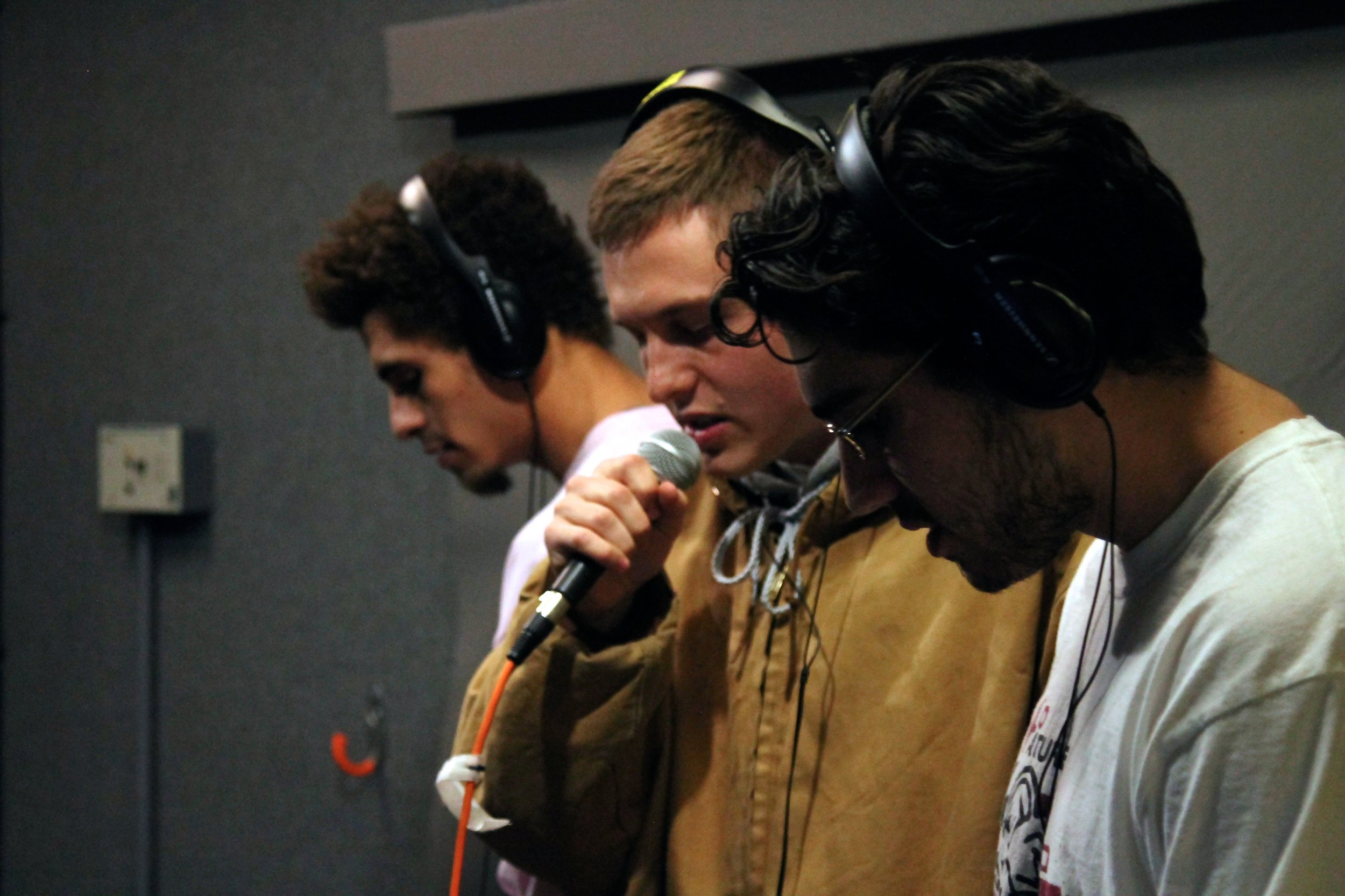 Left to right: Matt Greene, Eric Opal, and Parker Israeli of OFFTOP