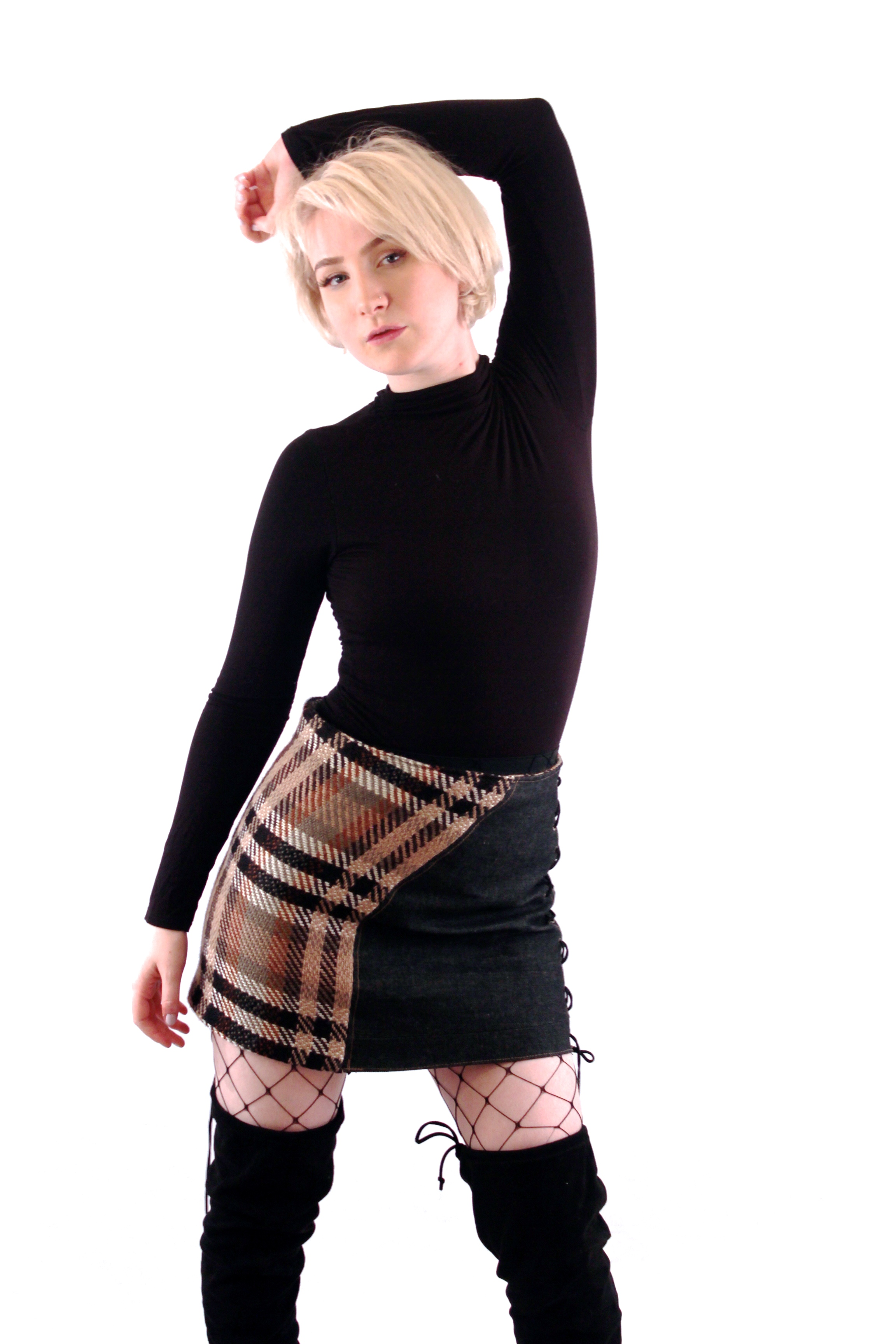 Skirt by Jose Holguin  Model: Emily Chantal