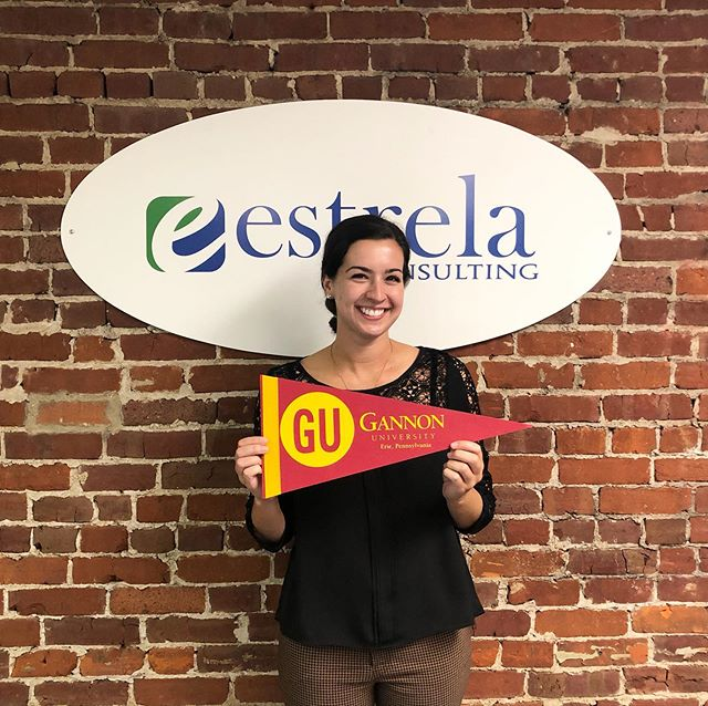 Another great week of admission visitors to the Estrela office! Thanks yo @gannonu, @saintmichaelscollege, @slipperyrockuniversity, @muskingum_university and @xavieruniversity for stopping by to see us and share more about the exciting things happening on campus! #gannon #gannonuniversity #slipperyrock #muskingum #SRU #muskingumuniversity #xavier #xavieruniversity #stmikes #saintmichaelscollege #estrelavisit