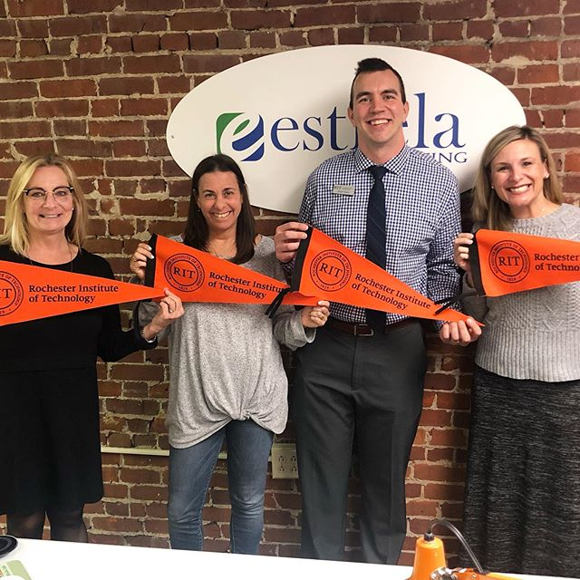 Fall travel season is more than halfway over for our admission friends! 🧳 We have had so many great visitors already and are looking forward to our last few weeks of guests at the Estrela Hudson office.  Last week we welcomed visitors from @rittigers, @wittenberguniversity, @fordhamuniversity, @kzooadmission, @duquesneuniversity, @universityoftoledo and @canisius_college! Thanks so much for stopping by to see us!  #estrelavisit #collegeplanning #kalamazoo #canisiuscollege #utoledo #toledo #duquesne #duquesneuniversity #wittenberg #rit #rochester #fordham #fordhamuniversity