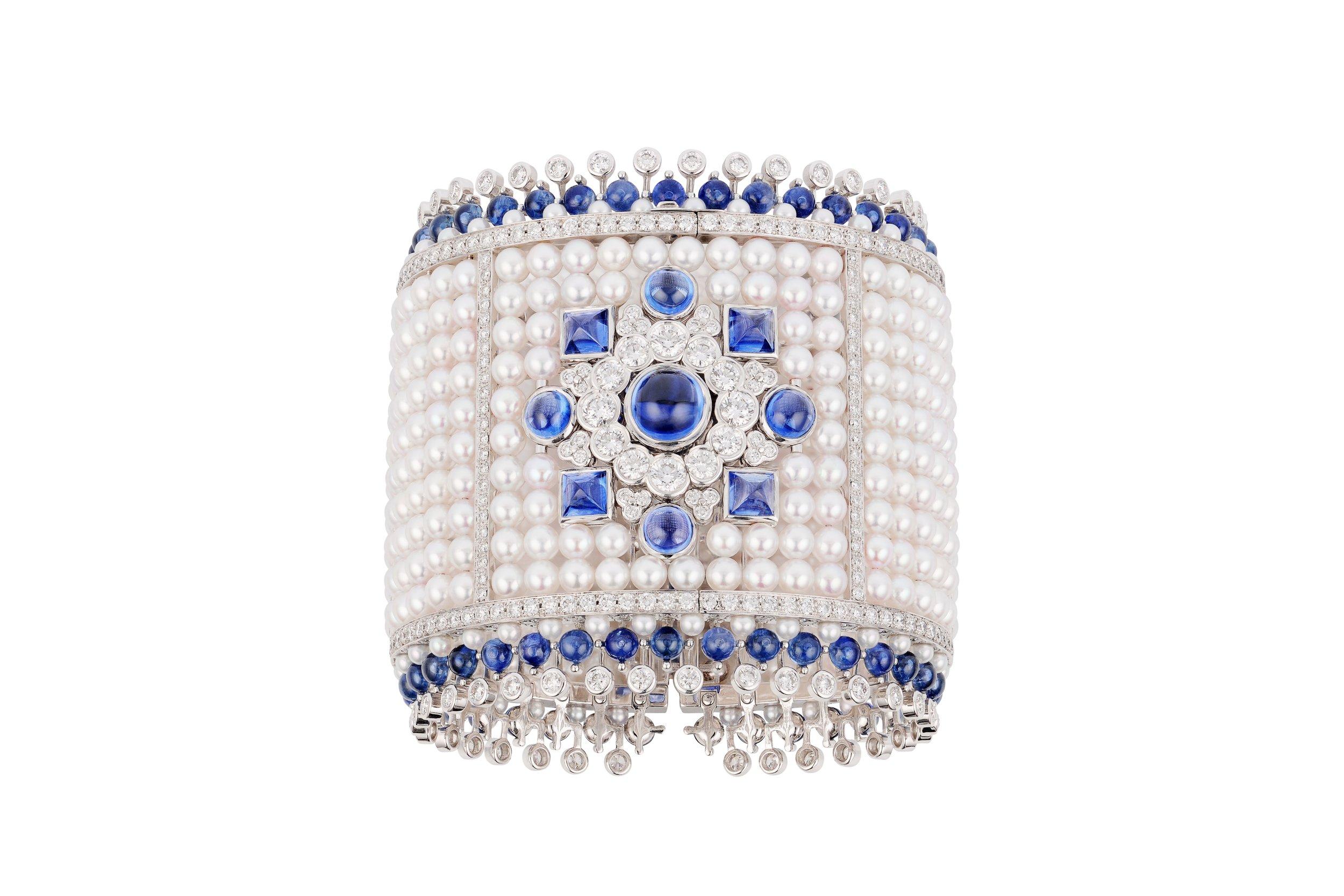 Dentelle Perles Bracelet