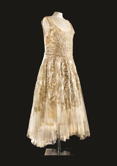 A Vionnet Dress, photo courtesy Fashion Museum of Bath