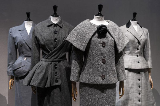 """The 50's: Fashion in France 1947-1957"""" exhibition at Palais Galliera, Paris"""