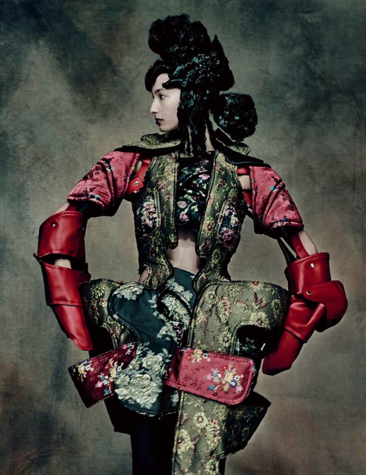 18th-Century Punk, autumn/winter 2016–17; Courtesy of Comme des Garçons. Photograph by © Paolo Roversi