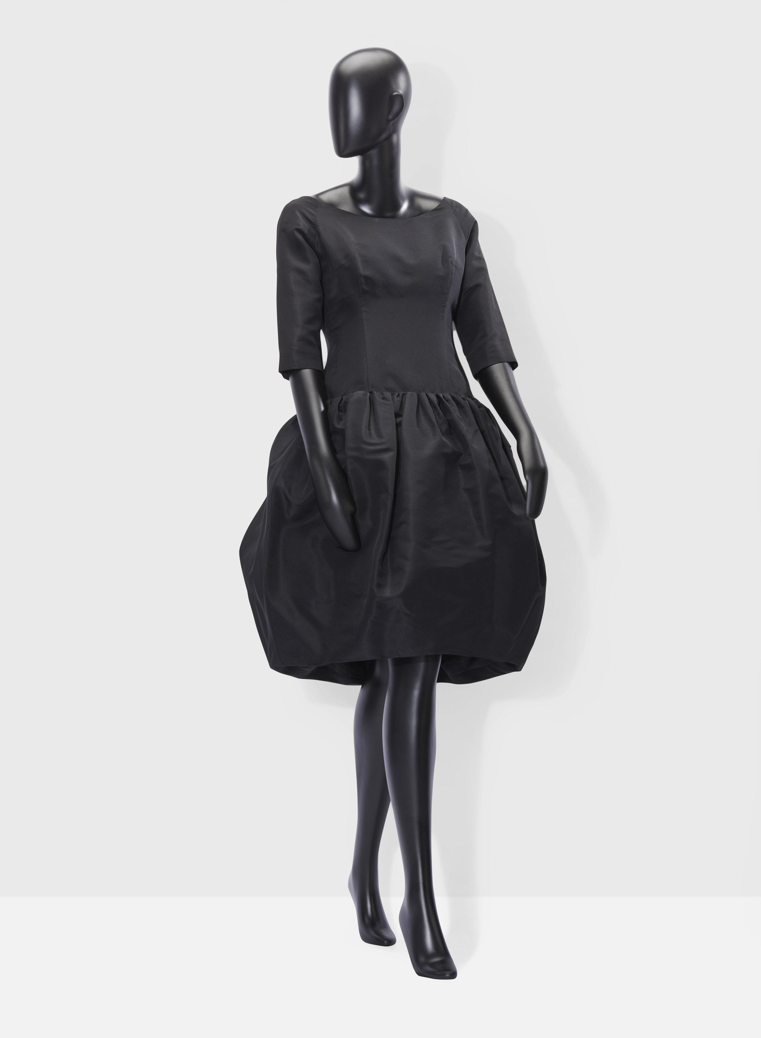 Christian Dior par Yves Saint Laurent  Autumn / Winter 1960    A silk faille cocktail dress  Estimate : €1,500-2,500