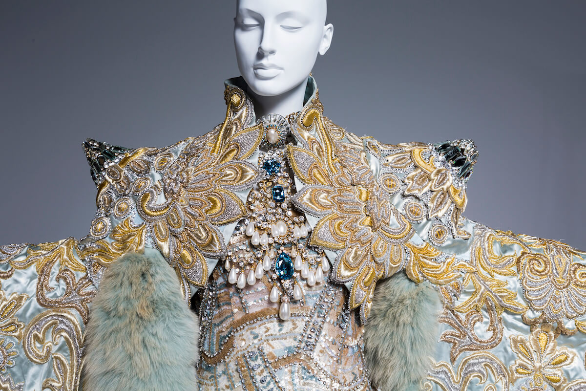 """""""White Queen"""" gown from the 1002 Nights collection, 2010.jpg"""
