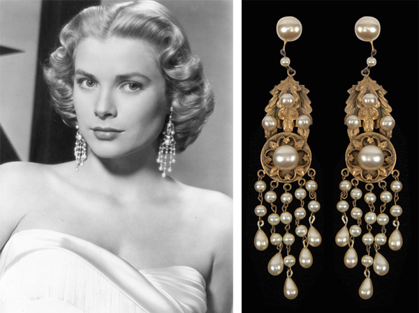 "Grace Kelly wore Joseff of Hollywood chandelier earrings in 1956's ""High Society"".jpeg"