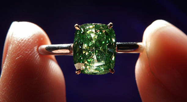 The 5.03-carat the Aurora Green