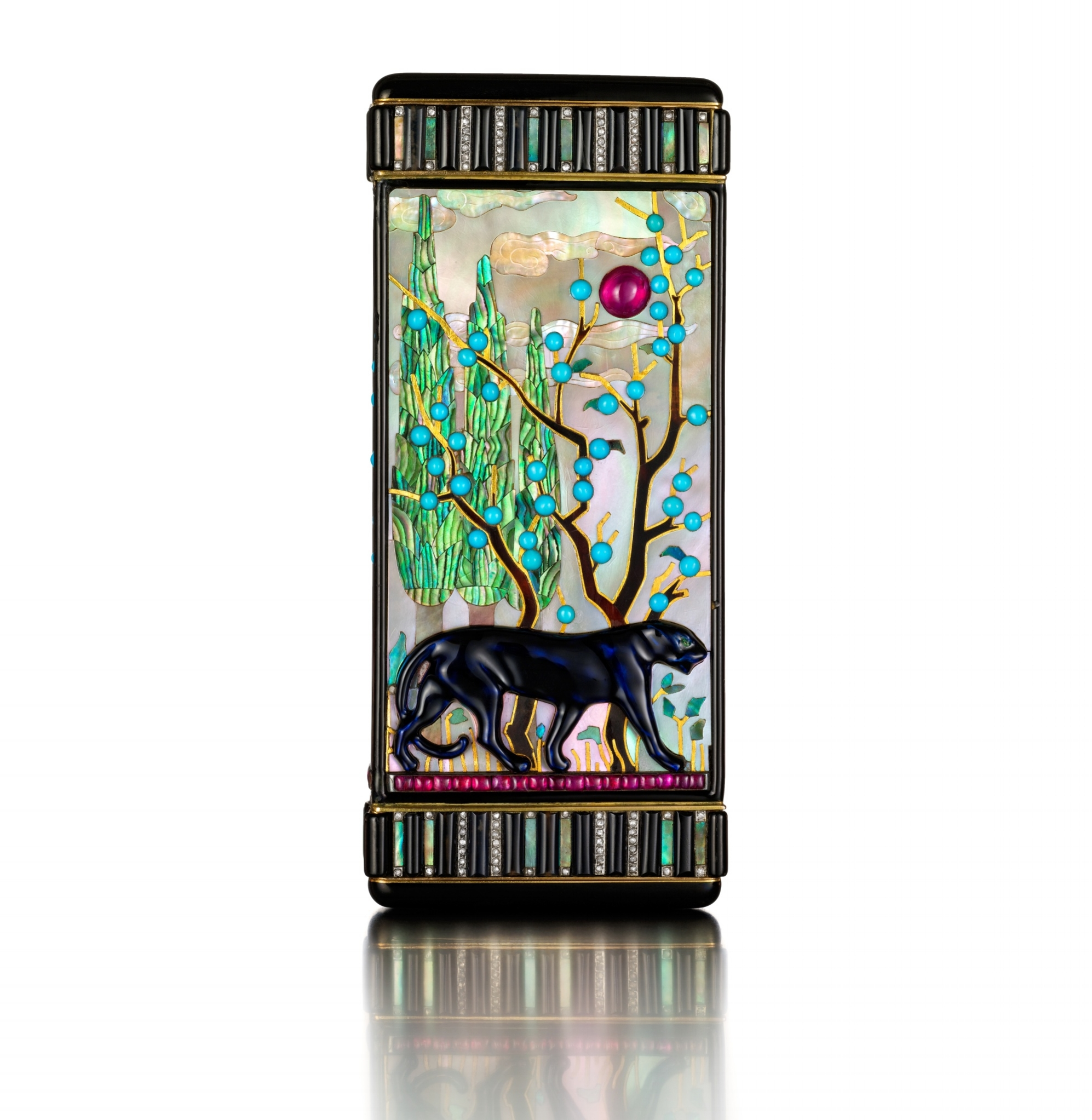 Cartier-Panther-Vanity-case