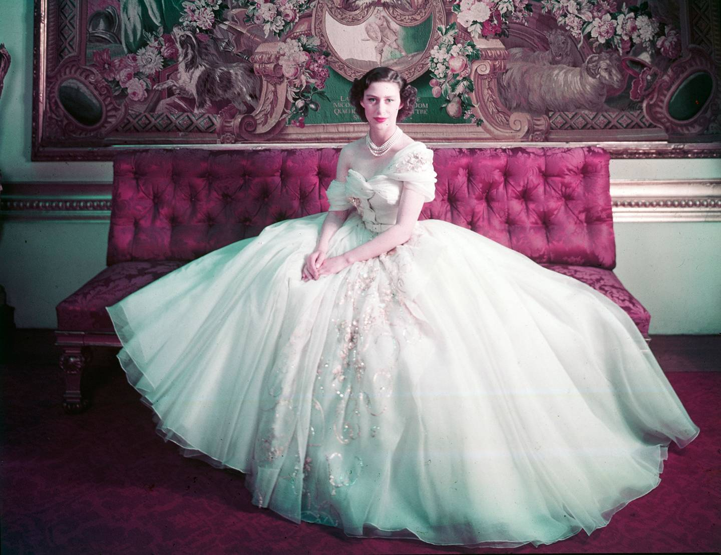 Royal Portrait of Princess Margaret on her 21st birthday, Photograph by Cecil Beaton (1904–1980), © Victoria and Albert Museum, London
